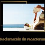Reclamación de vacaciones