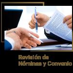 Revisión de nóminas y convenio
